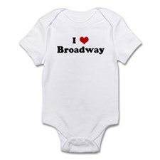 I Love Broadway Infant Bodysuit