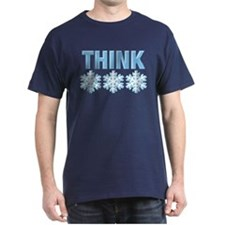 Think Snow Blue T-Shirt