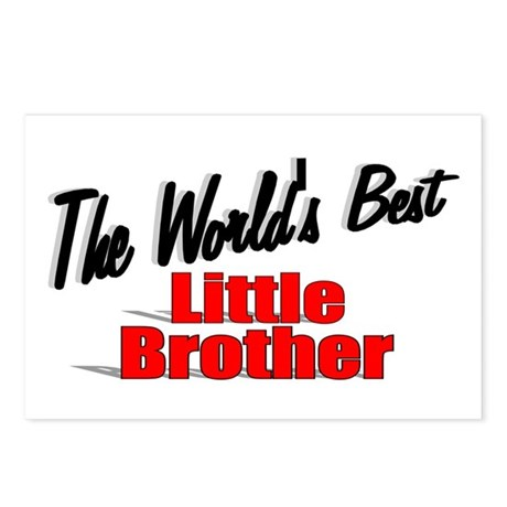 """The World's Best Little Brother"" Postcards (Packa"