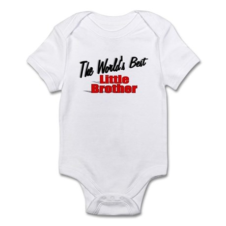 """The World's Best Little Brother"" Infant Bodysuit"