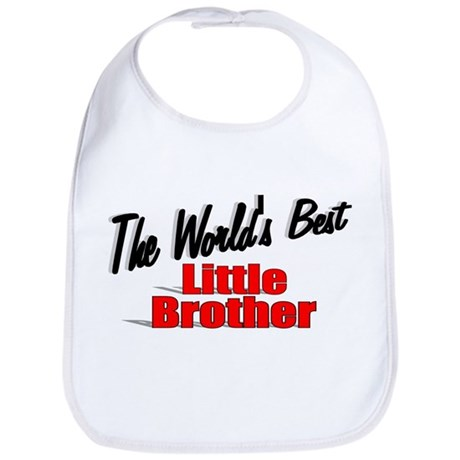 """The World's Best Little Brother"" Bib"