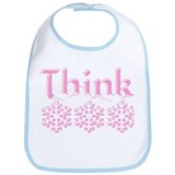 Think Snow Pink Bib