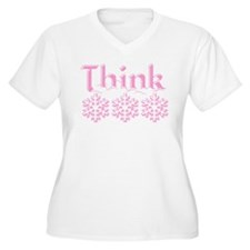 Think Snow Pink T-Shirt