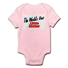 """The World's Best Little Sister"" Infant Bodysuit"