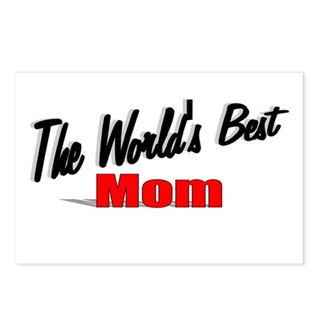 """The World's Best Mom"" Postcards (Package of 8)"