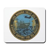 USS NIAGARA FALLS Mousepad