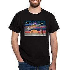 XmasStar/Basenji #2 T-Shirt
