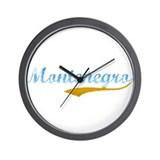 Beach Montenegro Wall Clock