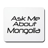 Ask Mongolia Mousepad