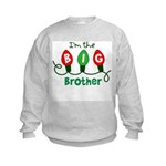 Big Brother Christmas lights Kids Sweatshirt