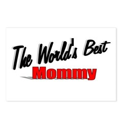 """The World's Best Mommy"" Postcards (Package of 8)"