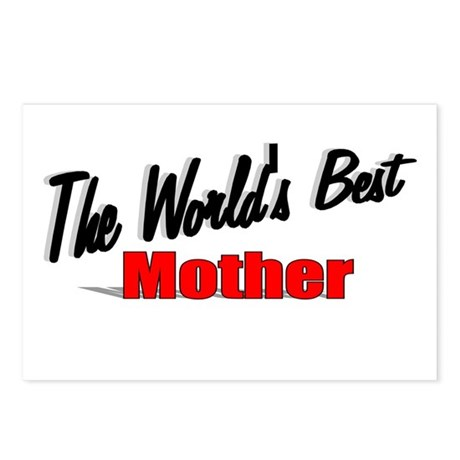 &quot;The World's Best Mother&quot; Postcards (Package of 8)