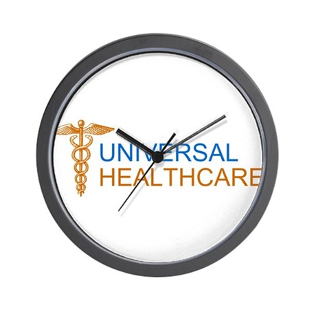 Universal Healthcare Wall Clock