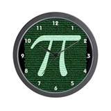 Pi Design 2 Wall Clock