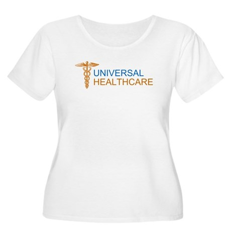 Universal Healthcare Womens Plus Size Scoop Neck