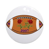 2007 Rose Bowl Ornament (Round)