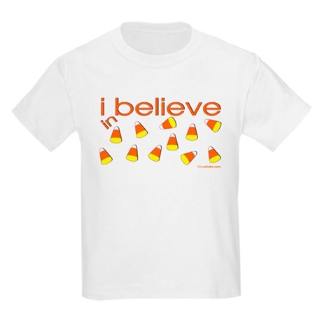 I believe in Candy Corn Kids Light T-Shirt