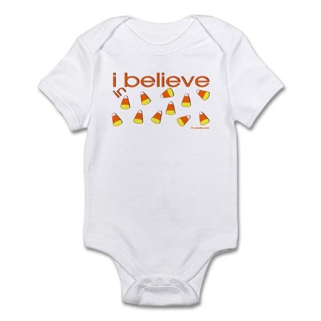 I believe in Candy Corn Infant Bodysuit