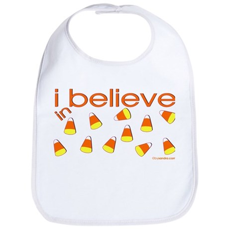 I believe in Candy Corn Bib