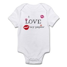 Funny Lips Infant Bodysuit