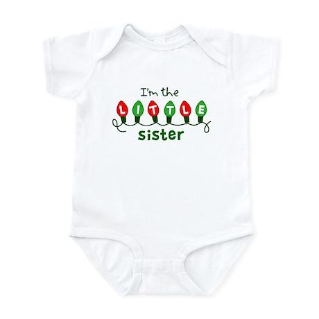 Little Sister - Christmas Infant Bodysuit