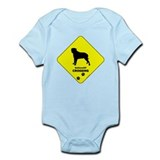 Bullmastiff Crossing Onesie
