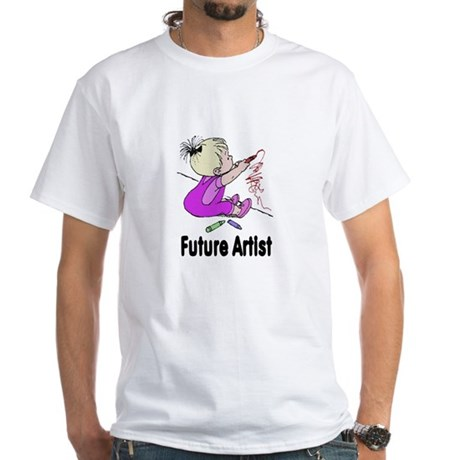 Future Artist White T-Shirt