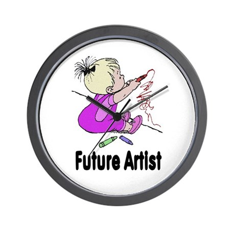 Future Artist Wall Clock