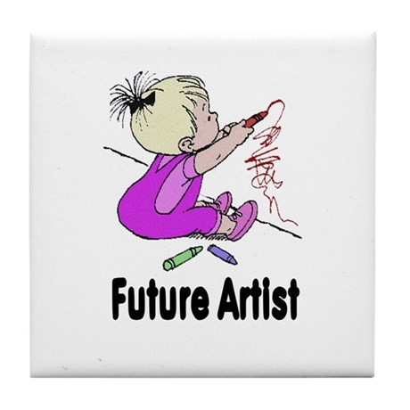 Future Artist Tile Coaster
