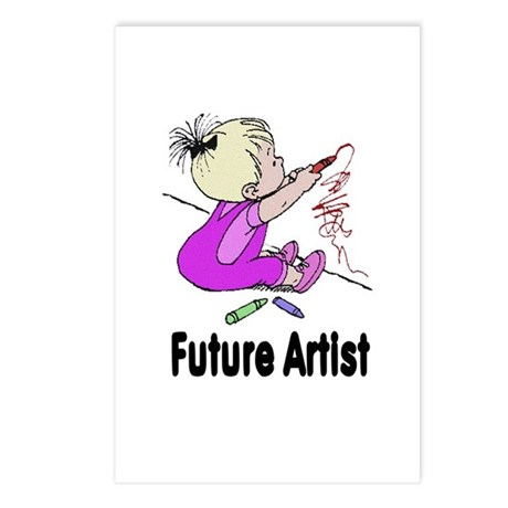 Future Artist Postcards (Package of 8)