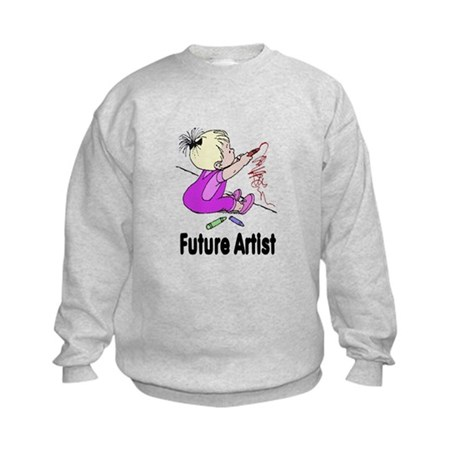 Future Artist Kids Sweatshirt