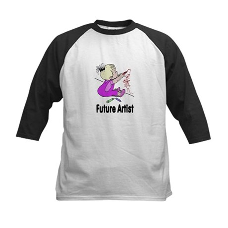 Future Artist Kids Baseball Jersey
