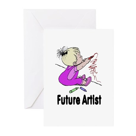Future Artist Greeting Cards (Pk of 10)