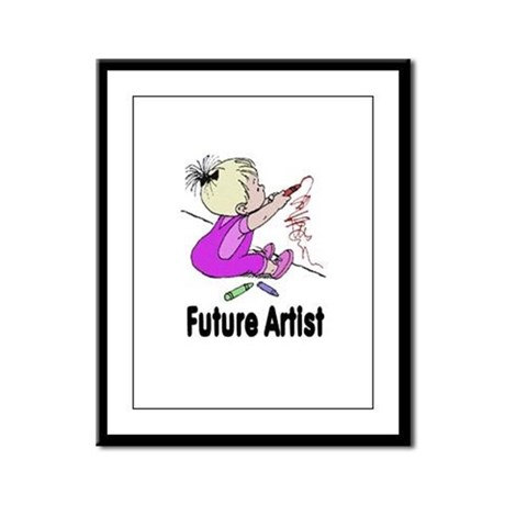 Future Artist Framed Panel Print