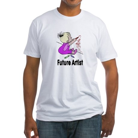 Future Artist Fitted T-Shirt
