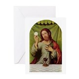Jesus Last Supper Greeting Card