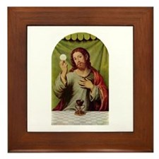 Jesus Last Supper Framed Tile