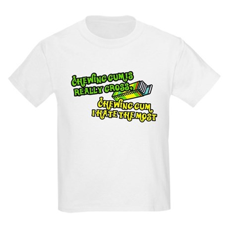 Chewing gum is really gross Kids T-Shirt