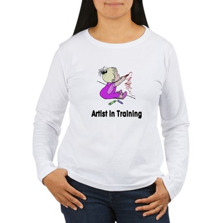 Artist in Training Women's Long Sleeve T-Shirt