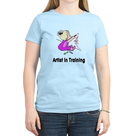 Artist in Training Women's Light T-Shirt