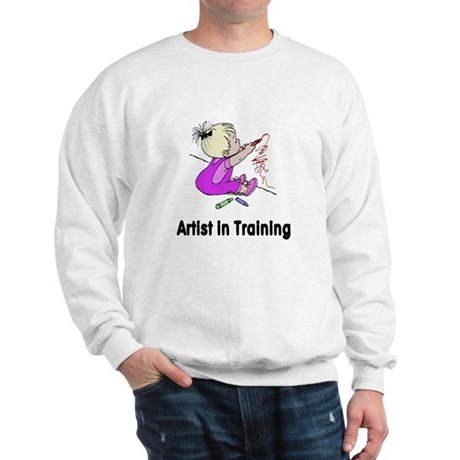Artist in Training Sweatshirt