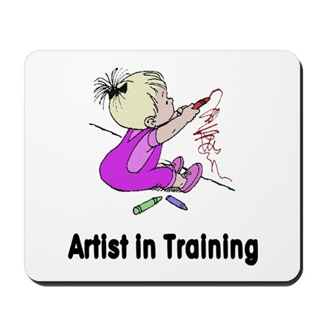 Artist in Training Mousepad