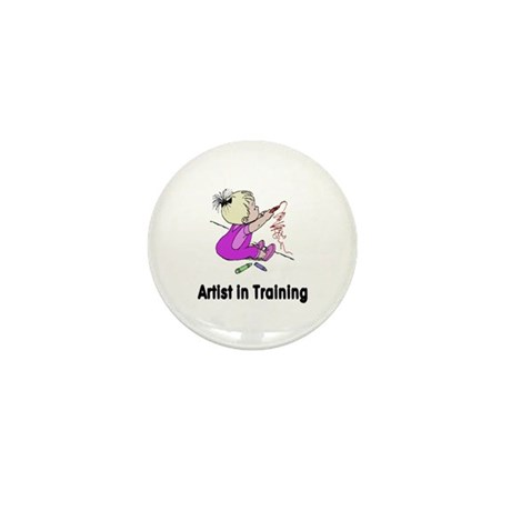 Artist in Training Mini Button