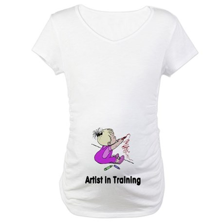 Artist in Training Maternity T-Shirt