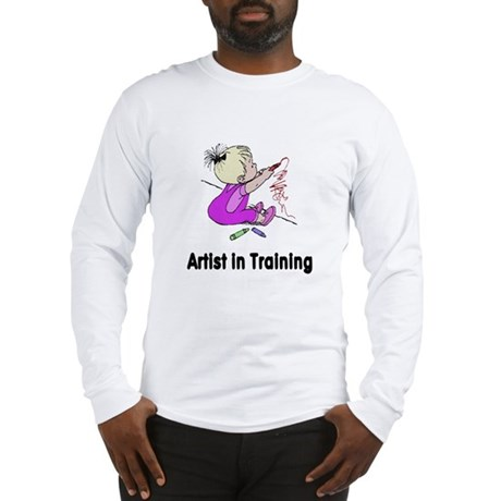 Artist in Training Long Sleeve T-Shirt