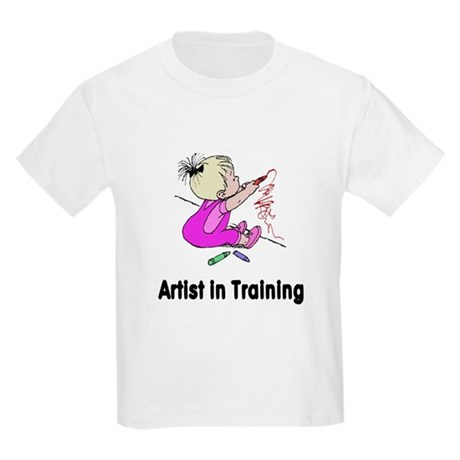 Artist in Training Kids Light T-Shirt