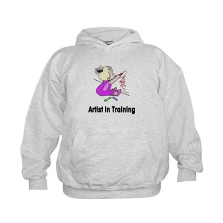 Artist in Training Kids Hoodie
