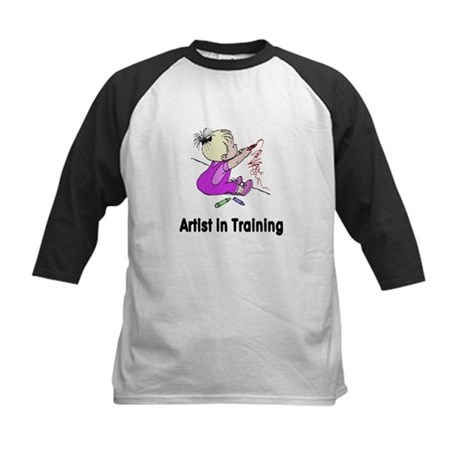 Artist in Training Kids Baseball Jersey