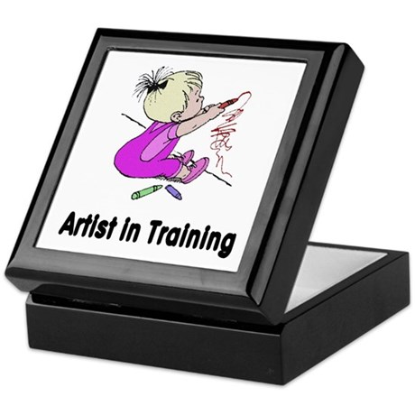 Artist in Training Keepsake Box