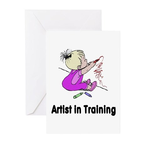 Artist in Training Greeting Cards (Pk of 10)